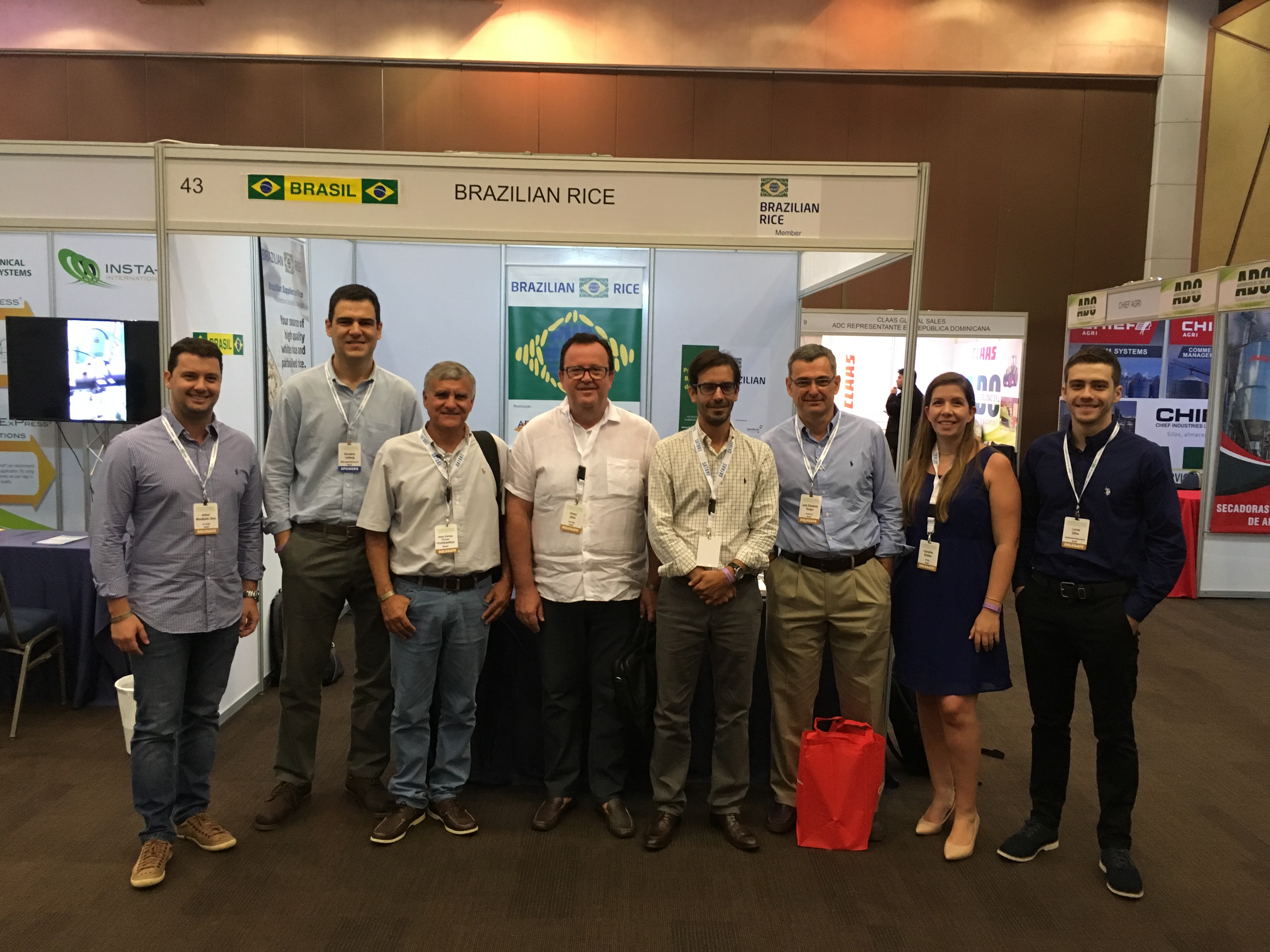 Brazilian Rice marca presença na Rice Market & Technology Convention