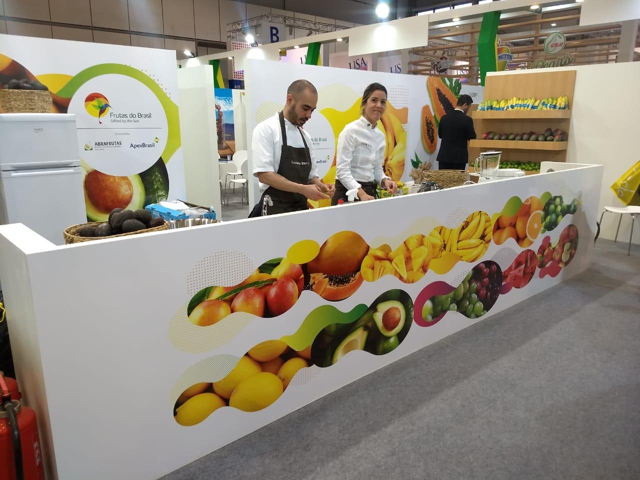 Abrafrutas participa na próxima semana da maior feira de frutas do mundo